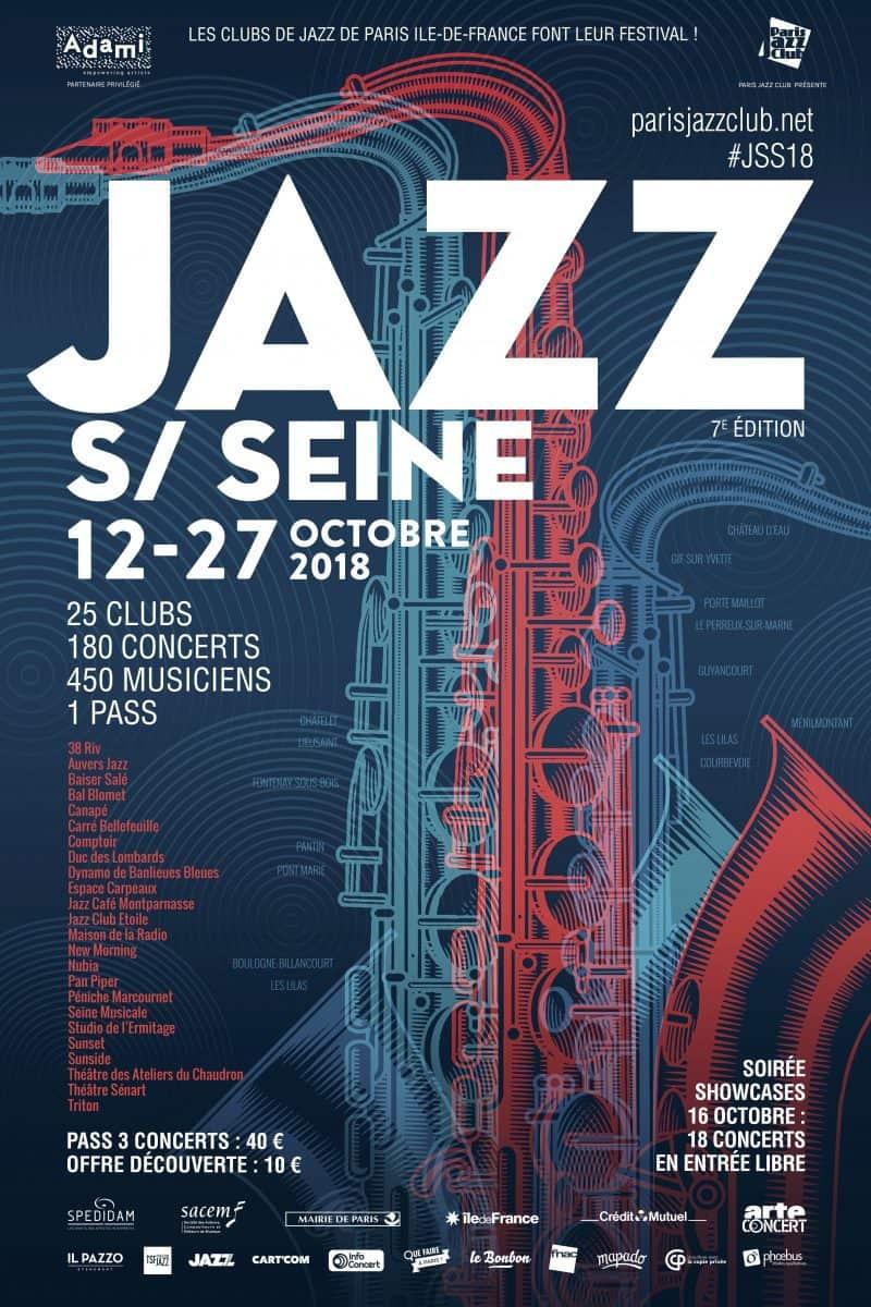 jazz on the seine in paris france