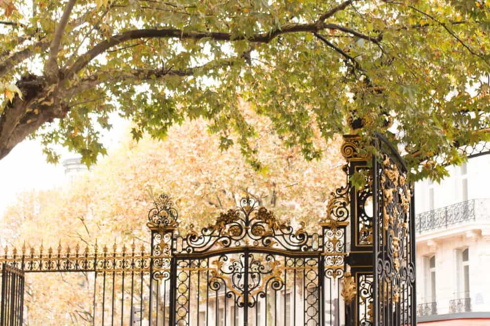 parc monceau paris, france by rebecca plotnick