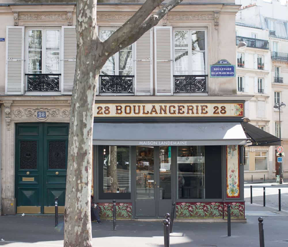 parisian boulangerie in the marais 28 beaumarchais paris france