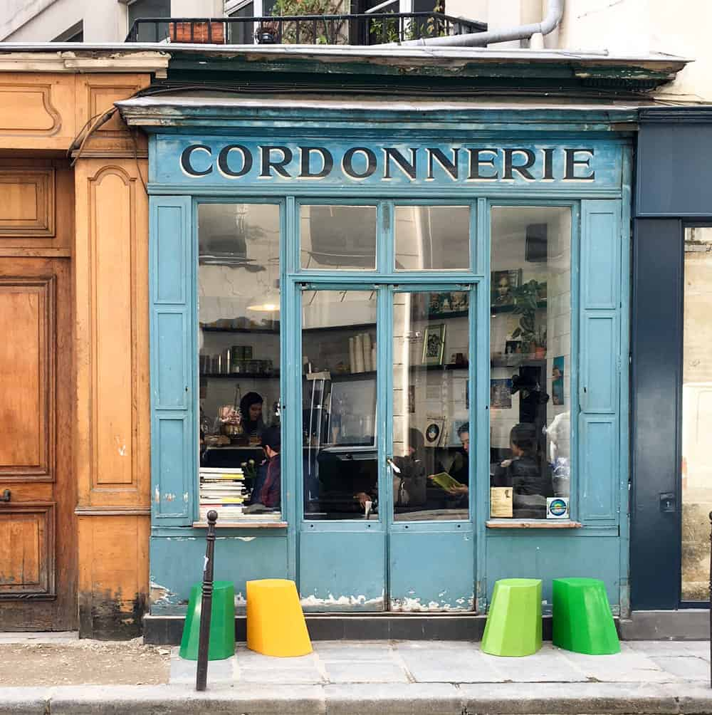 boot cafe paris france where to drink coffee