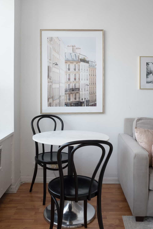 My chicago apartment parisian inspired