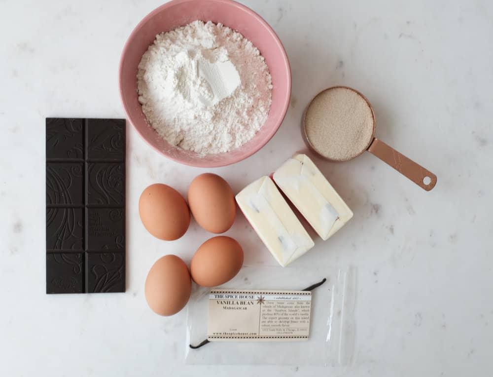 marble cake ingredients
