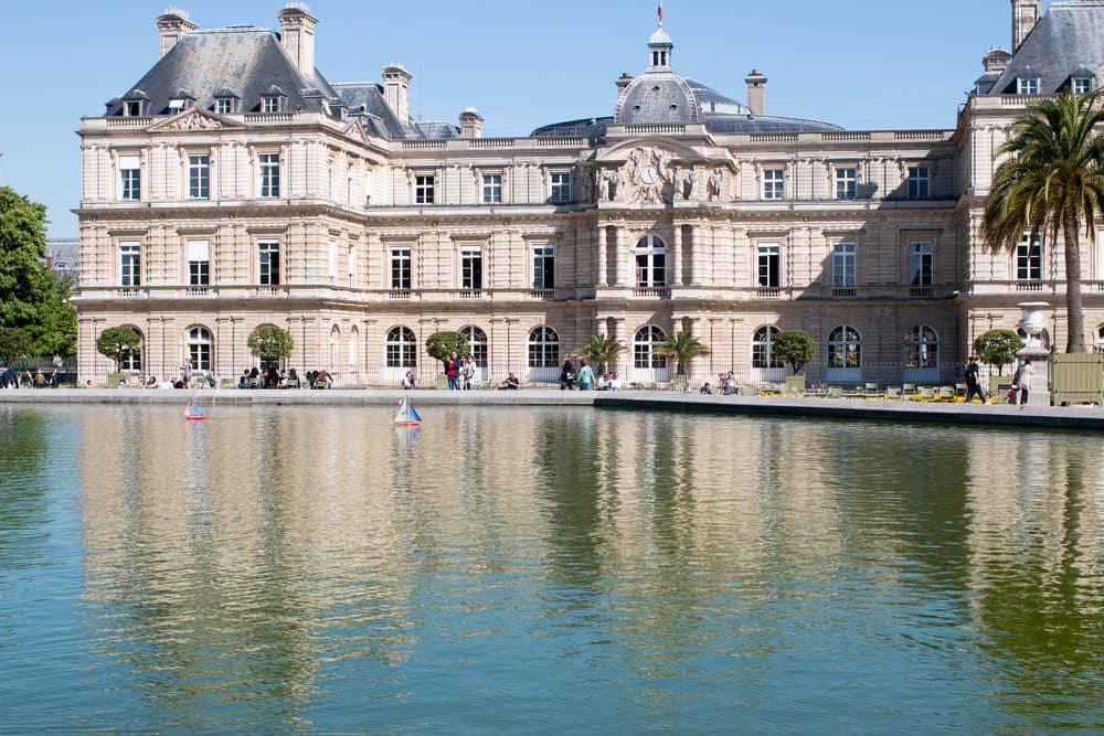 paris france luxembourg gardens