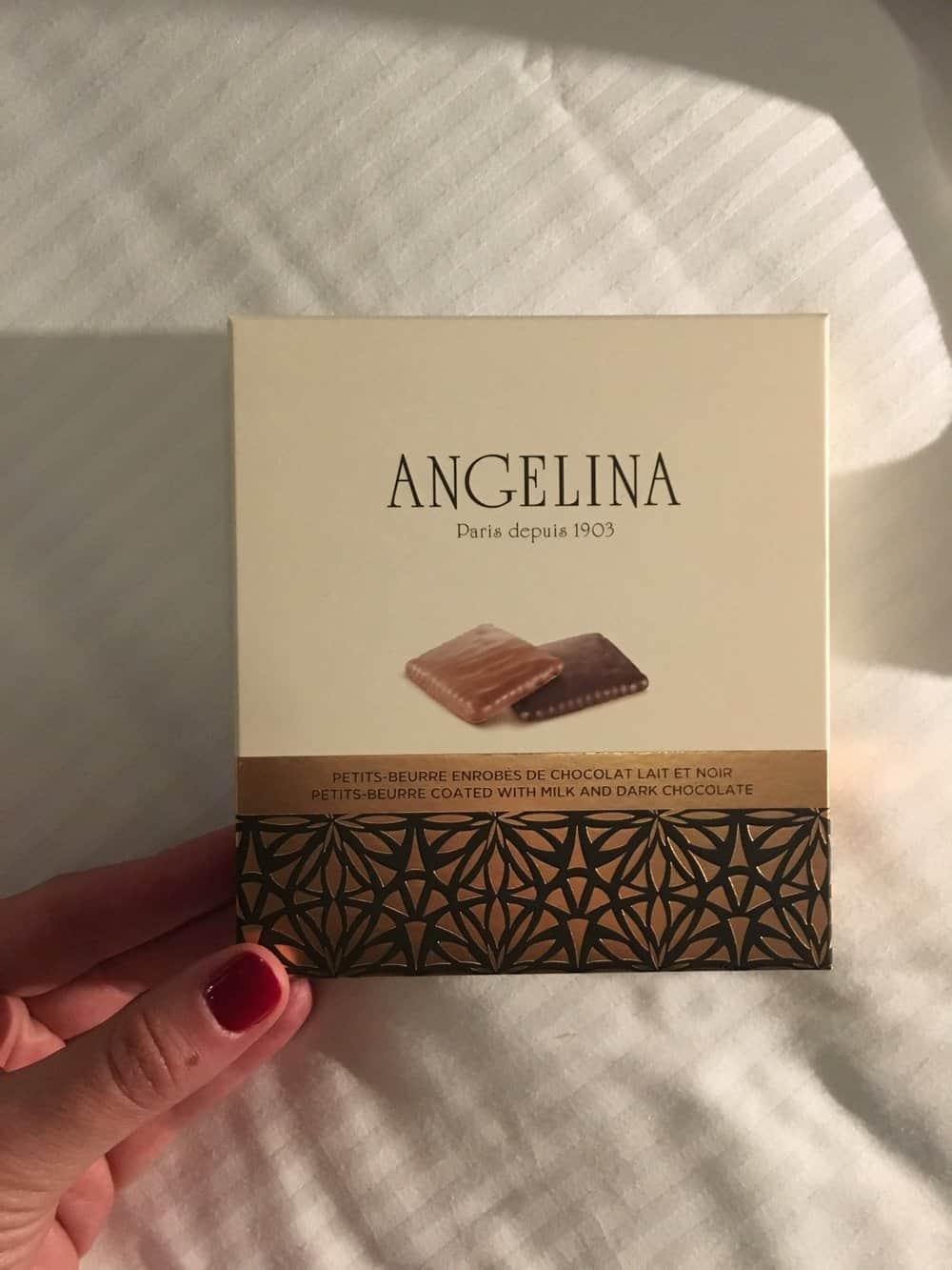 angelina paris france chocolates
