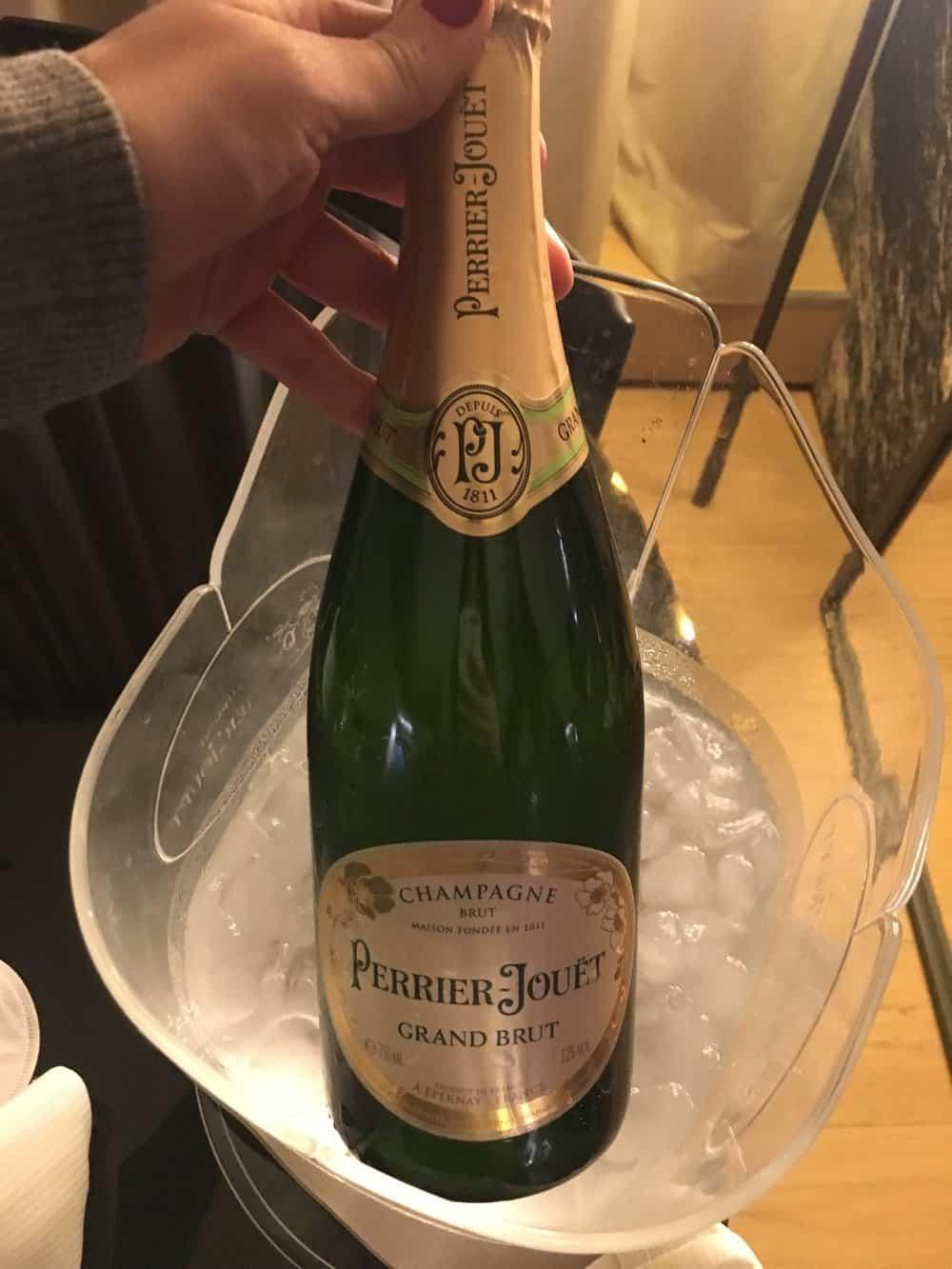 le cinq codet paris france champagne