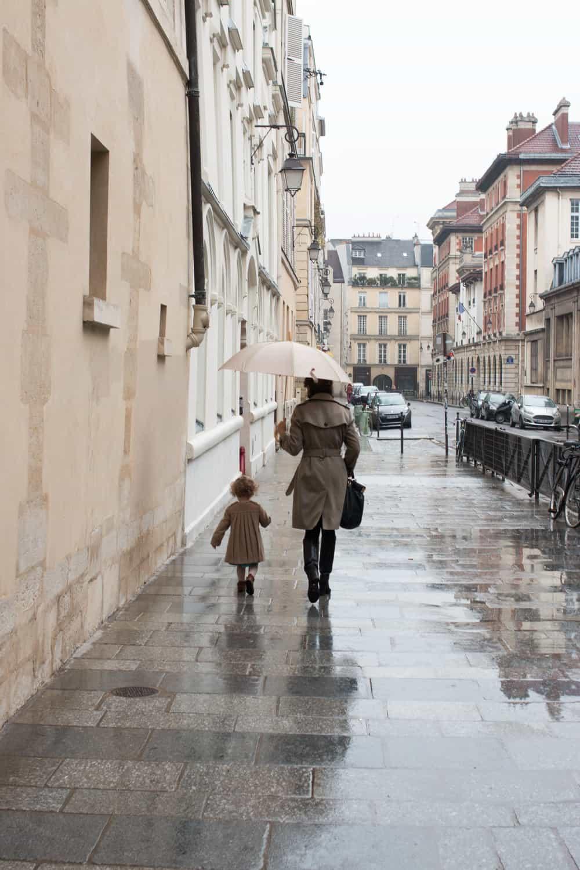Shop Mother Daughter Paris in the Rain Print Here