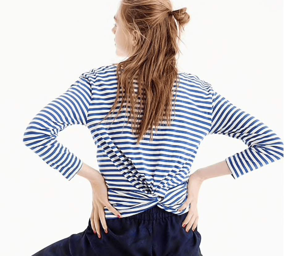 striped shirt jcrew