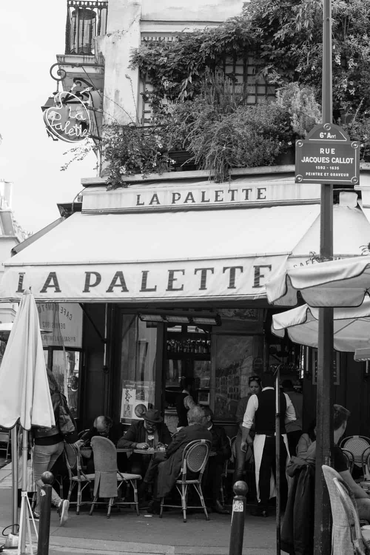 la palette paris france
