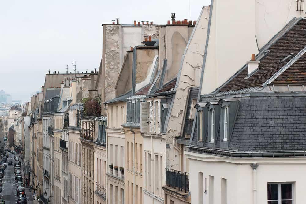 paris rooftop views left bank