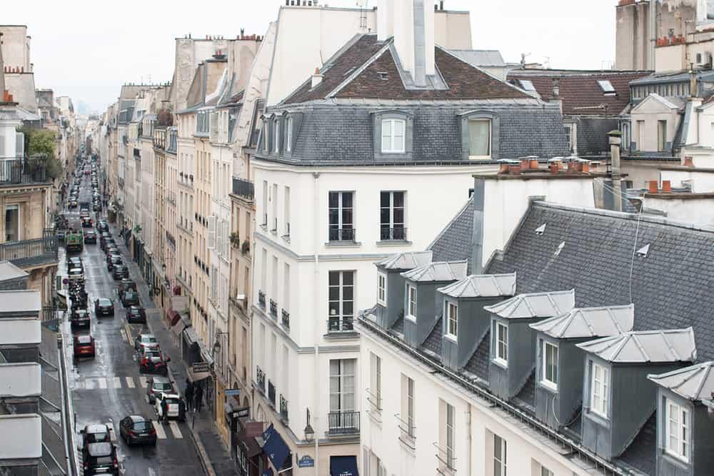 paris rooftop view rue jacob