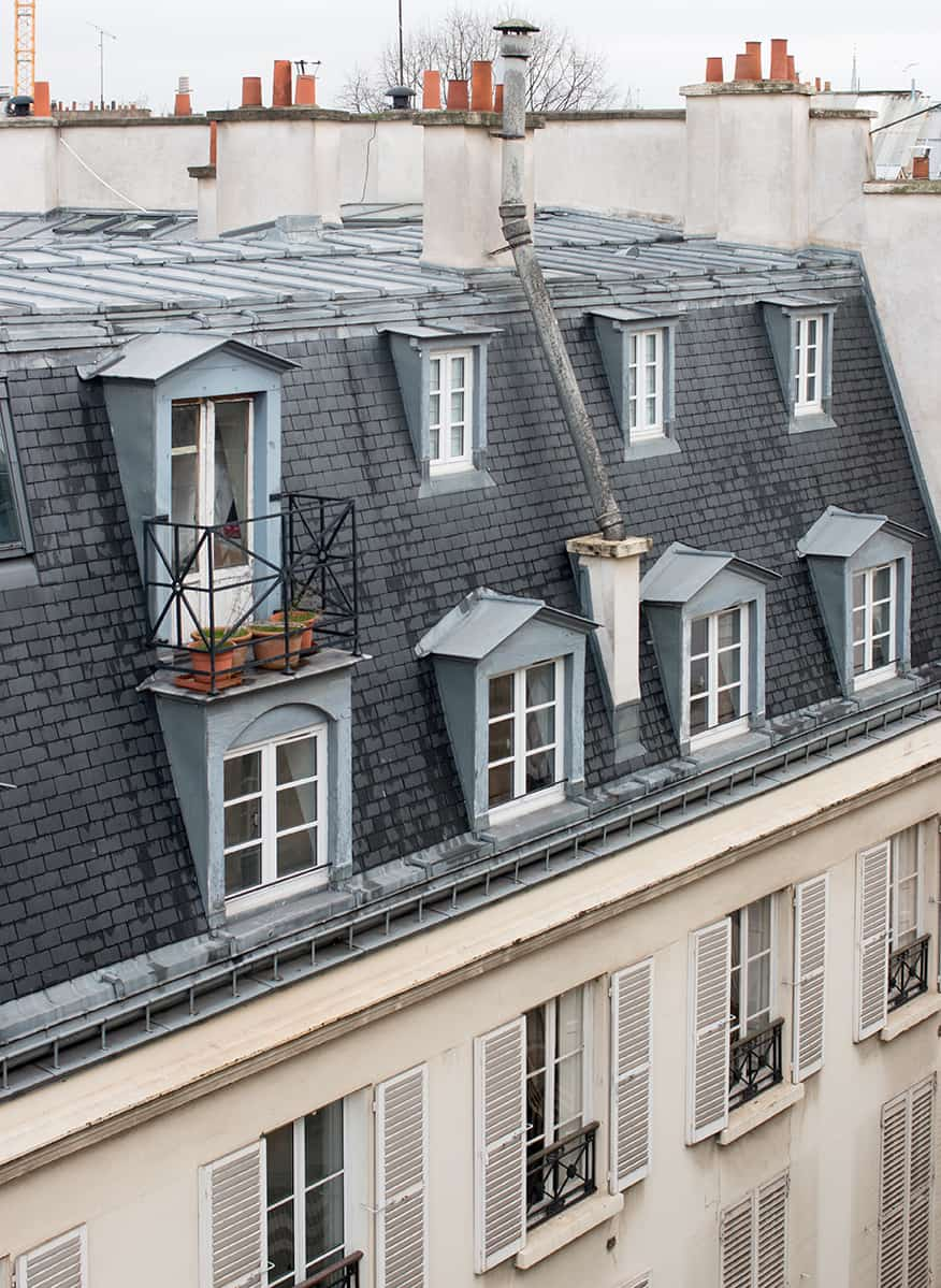 paris rooftop views rue jacob