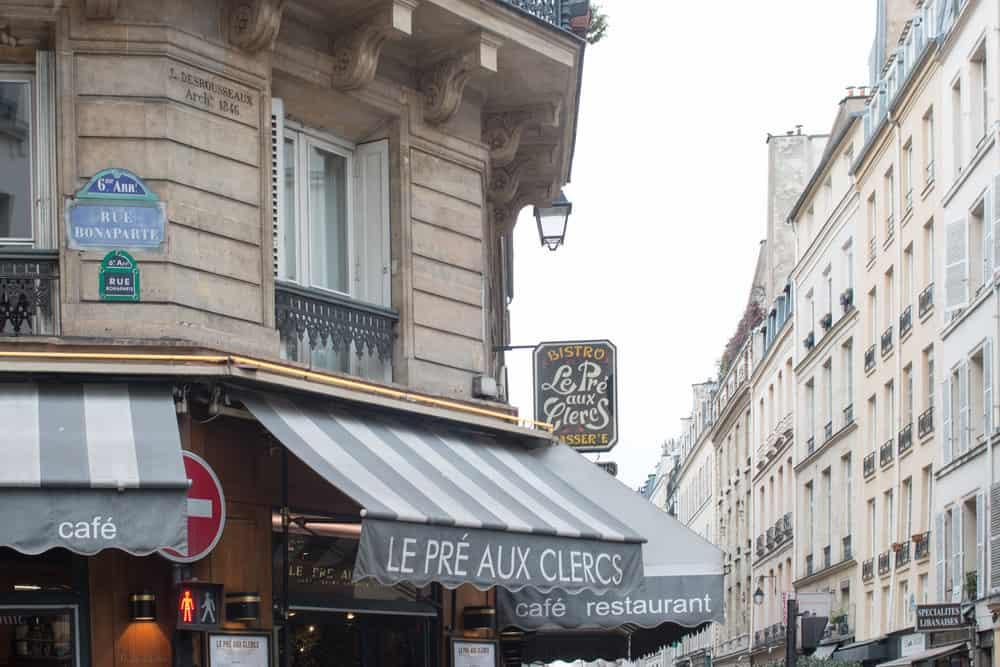 paris france left bank