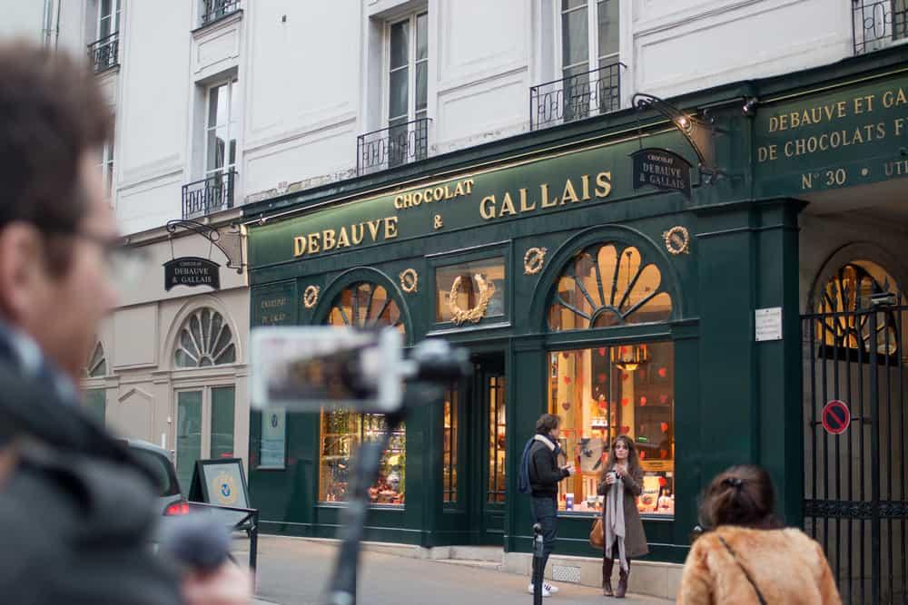 debauve and gallais chocolate shop