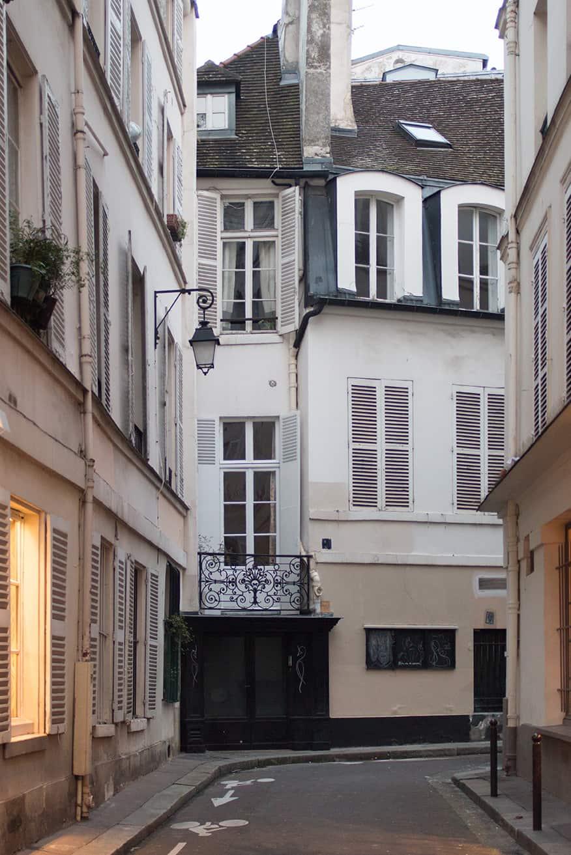 paris left bank street