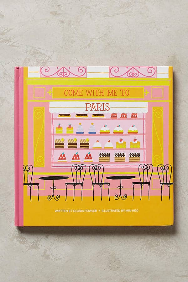 Come with me to Paris -