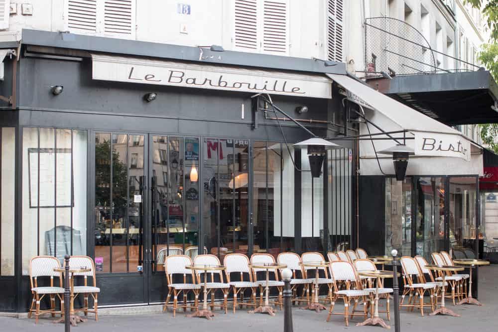 links i love via every day parisian cafe in the marais