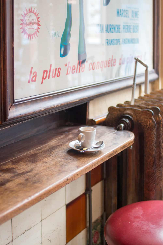 coffee in paris via everyday parisian