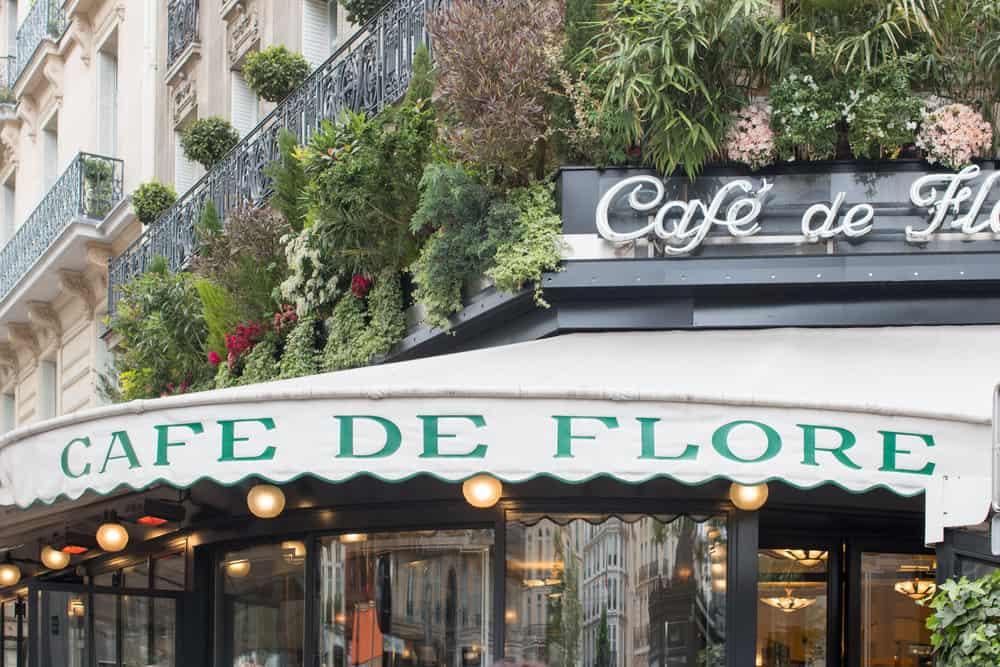 cafe de flore paris classic cafe @rebeccaplotnick