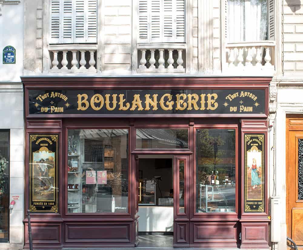 paris boulangerie in the marais