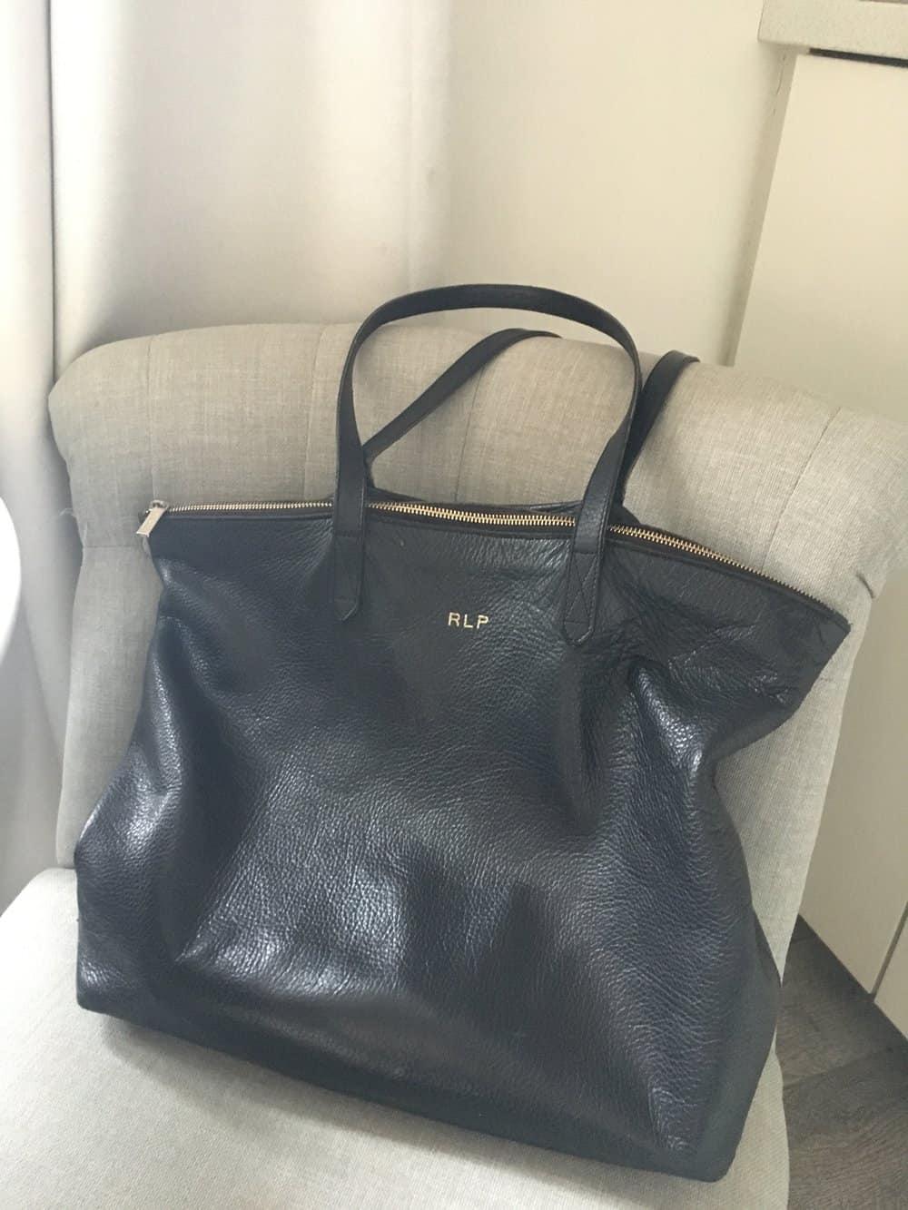 cuyana travel bag