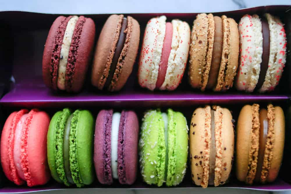 macarons from alliance bakery