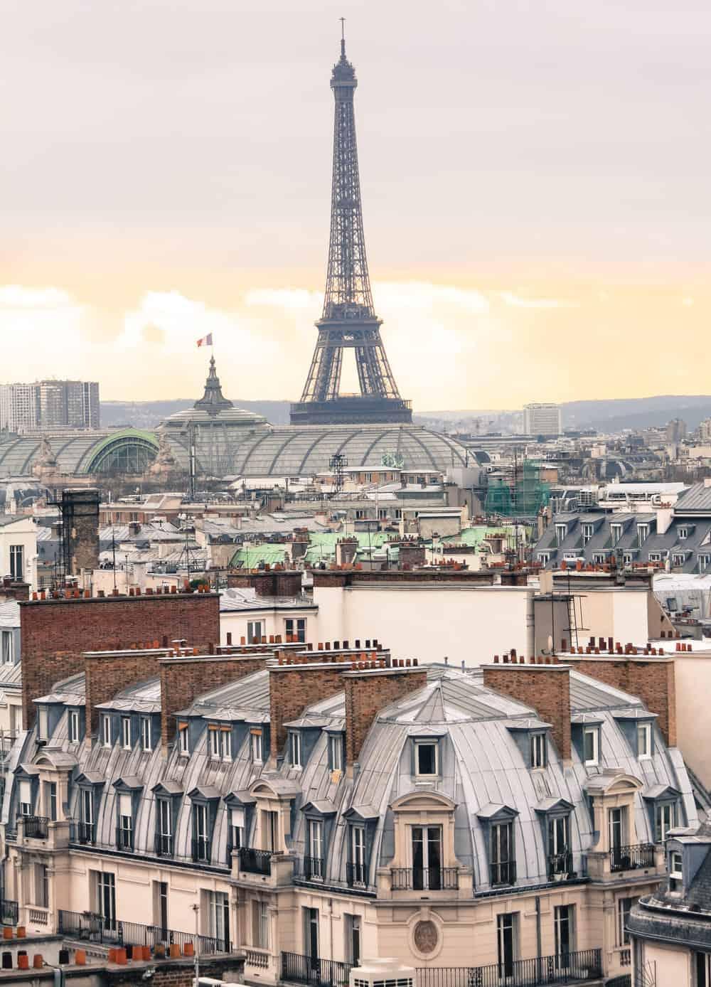 Rooftop Terrace of Galeries Lafaytte