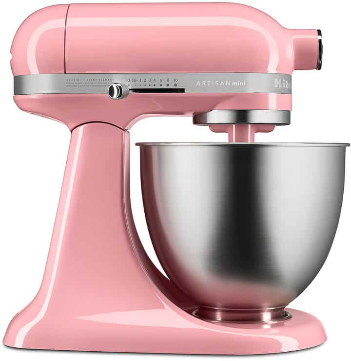 Pink Kitchen Aid Mini Mixer
