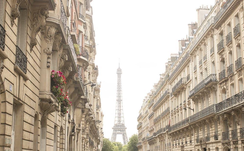 Paris Spring Eiffel Tower @rebeccaplotnick