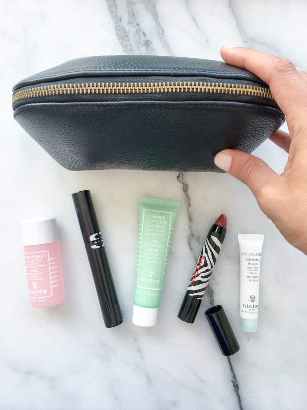 Sisley-Paris travel beauty products