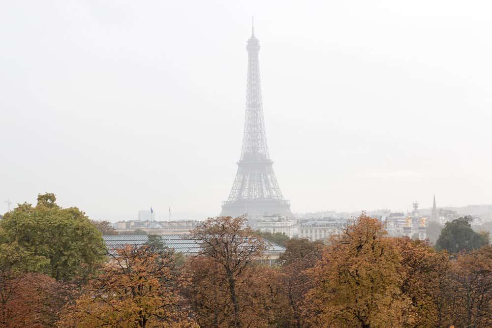 Paris, France Autumn Views