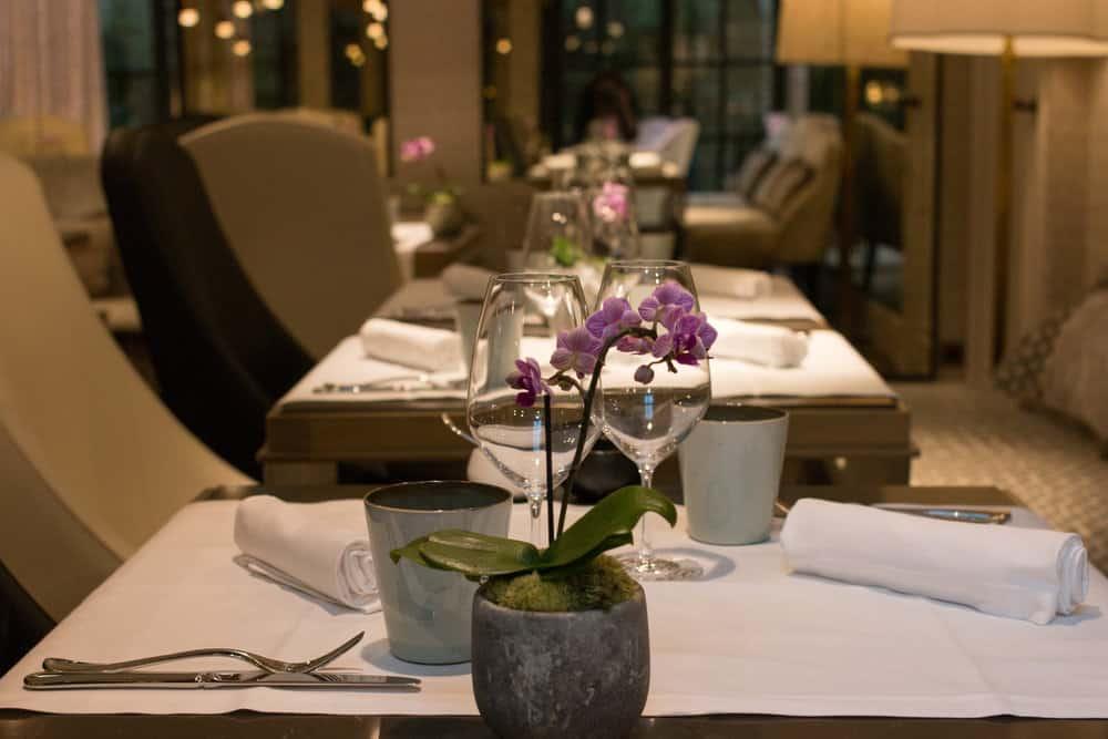 Cleo Restaurant in Narcisse Blanc hotel