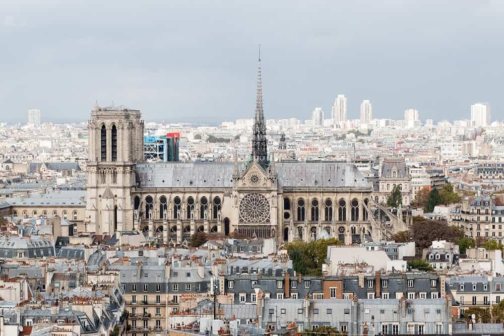 Pantheon view Paris, France @rebeccaplotnick