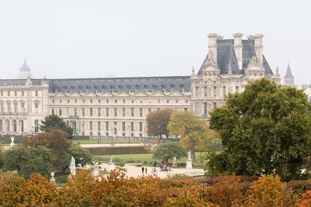 Louvre in the Autumn Paris, France