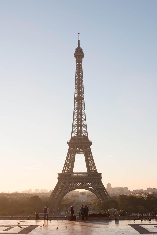 Paris eiffel tower @rebeccaplotnick