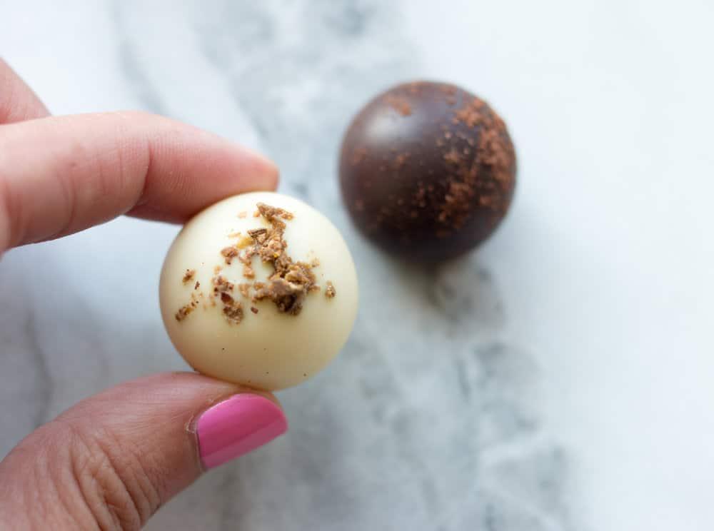 how to eat a truffle Vosges Chocolates @everydayparisian