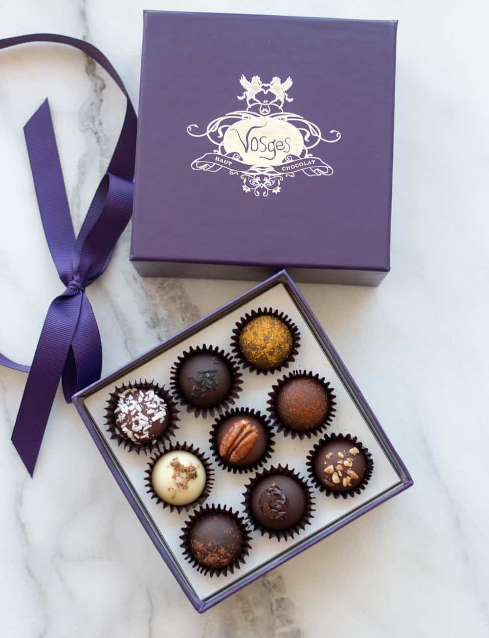 How to eat a truffle Vosges Chocolate @everydayparisian