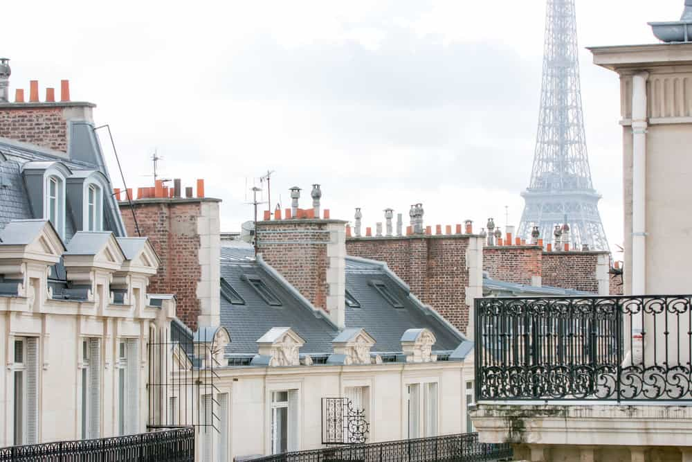 Hotel Powers Eiffel Tower View @rebeccaplotnick
