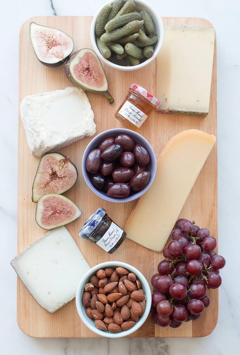 cheese plate @everydayparisian @rebeccaplotnick