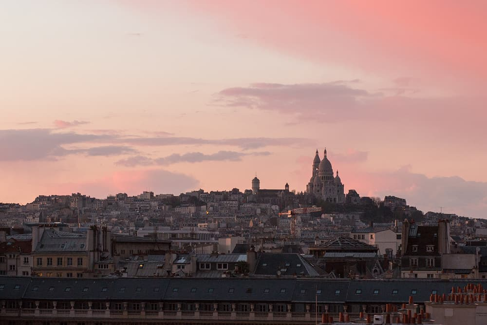 montmartre from grand hotel du palais royal