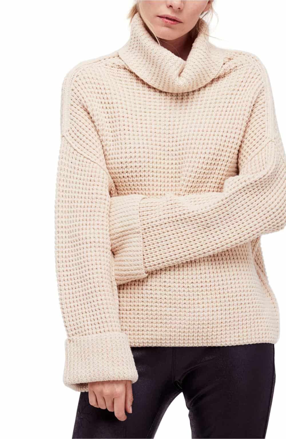 cozy cafe sweater