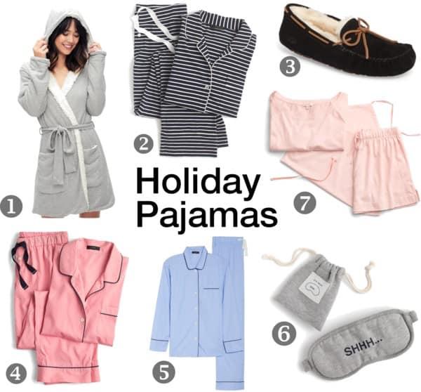 holiday pajamas