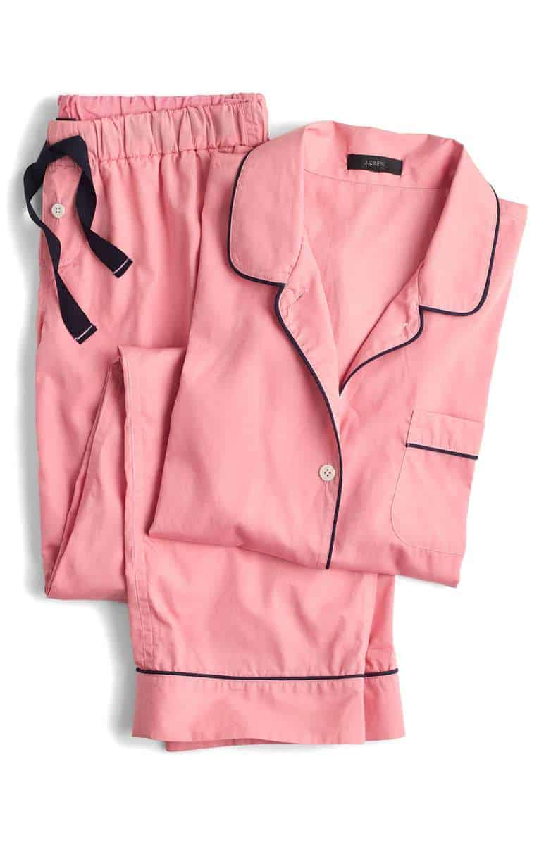 pink pajamas