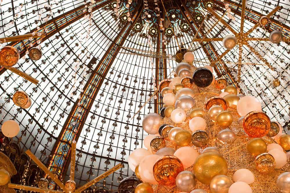 galleries lafayette paris christmas tree