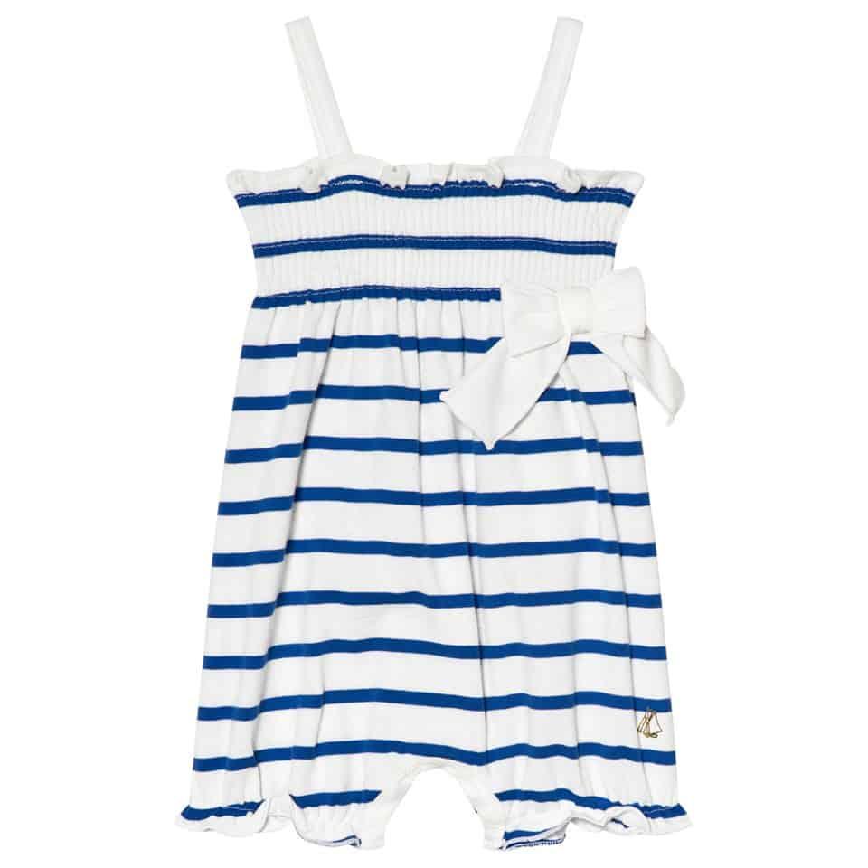 - Blue and White Onesie $20