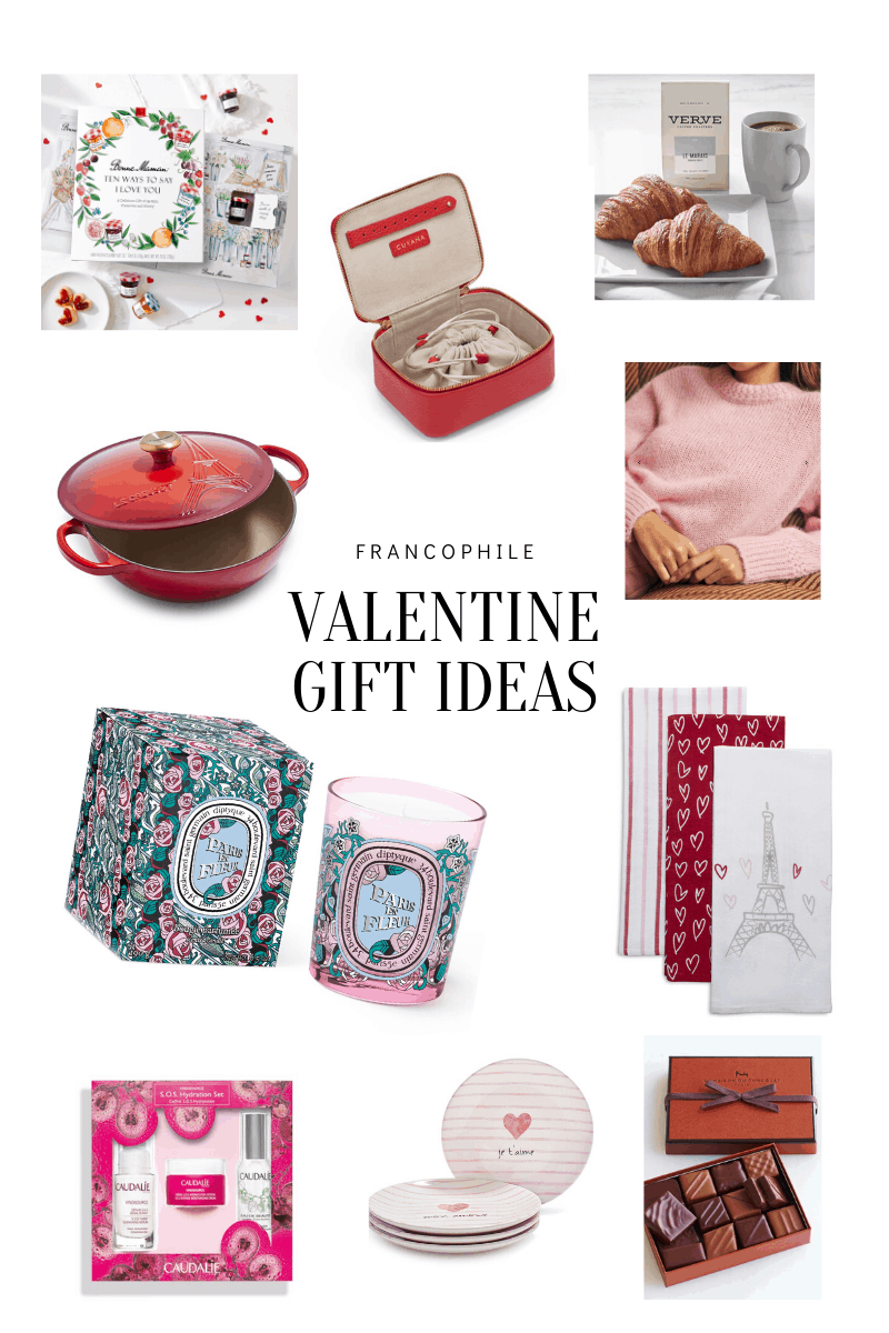 Francophile Valentine's Day Gifts