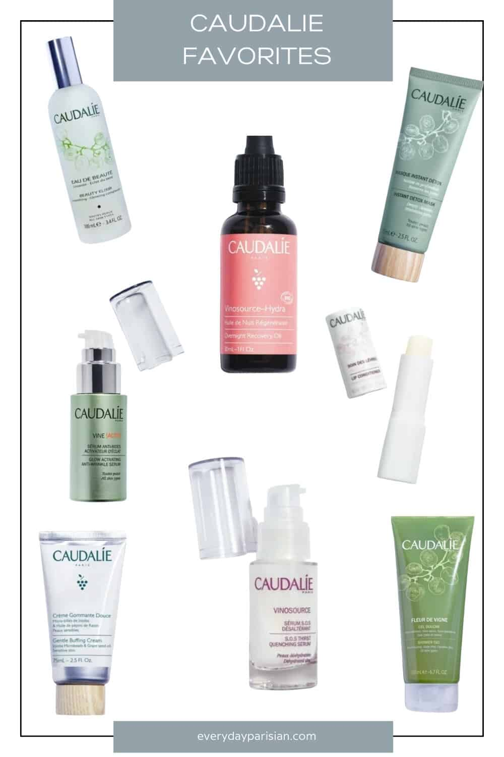 My Caudalie Favorites