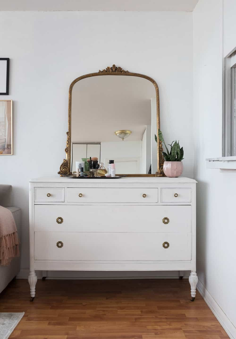 how to create a french bedroom
