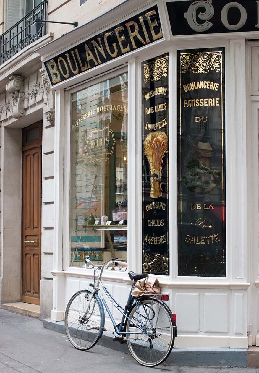 Shop Boulangerie in Montmartre Print Here