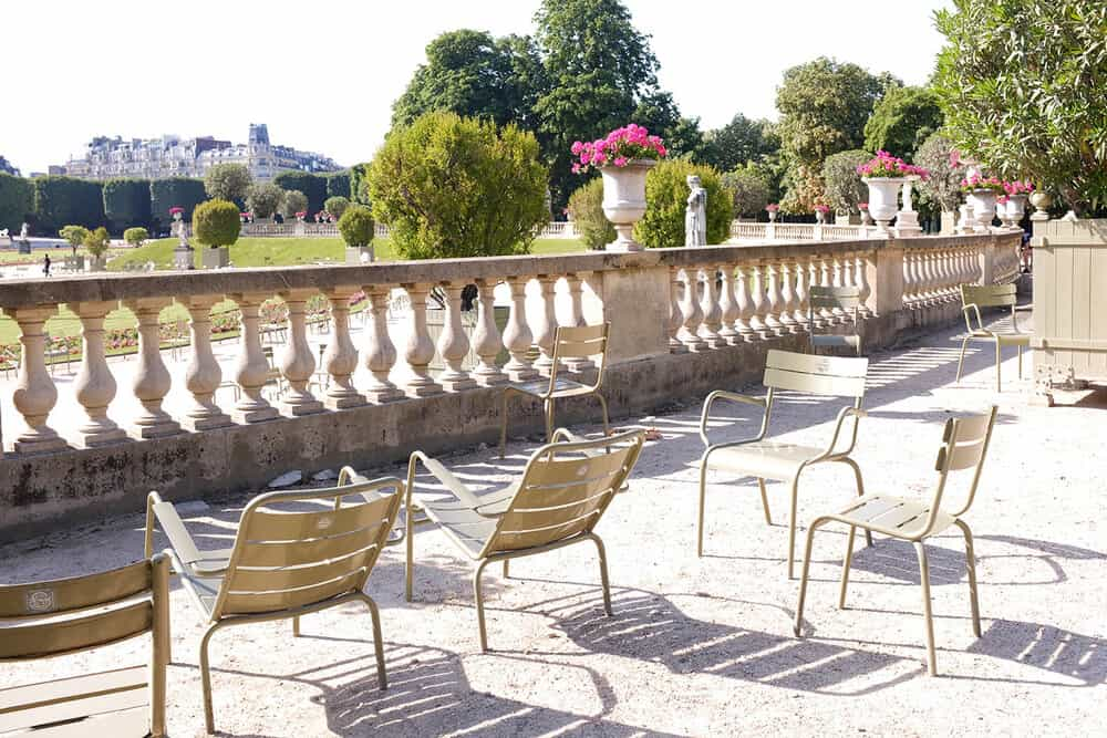 Shop the Luxembourg Gardens Summer Print Here