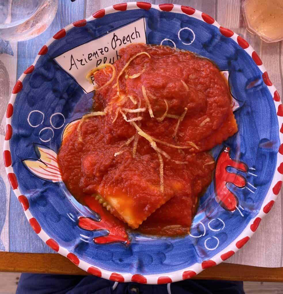 plate for Positano Arenzio